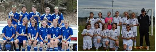 U12 Girls Academy have great showing at Vulcan Cup!