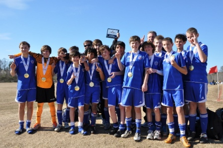 U14 Classic Blue Win Pre-Season Tournament